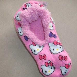 c806d08c1 Hello Kitty Shoes - Hello Kitty Girls slippers fuzzy babba socks pink
